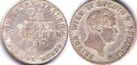 2 1/2 гроша 1843 Ag