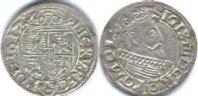 1 1/2 гроша (Полторак) 1617 Ag
